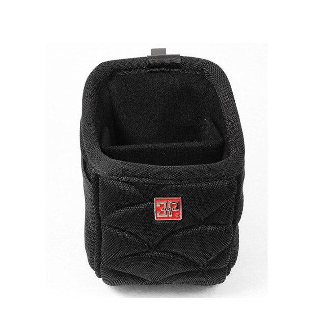ZYHW Marca Car Air Vent mount bolsa 2 Bolsillos Bolsa de Almacenamiento de Bolsillo Titular Del Teléfono Celular Negro