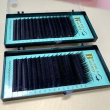 Big eye's secret 16rows / case 8 ~ 15mm mix visón sintético natural individual pestañas extensión maquillaje cilios pestañas profesionales
