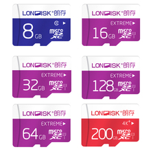 Londisk MicroSD Card 32GB 64GB 128GB Class10UHS1 200GB Memory Card Flash Memory Card Micro sd TF Card for Smartphone Pad Camera