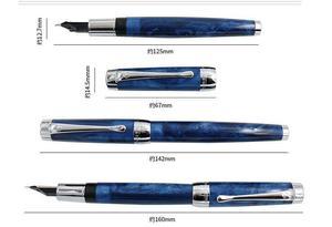 Image 4 - Asa sung 627 caneta caneta caneta tinta fino nib presente um extra m unidade nib canetas de escrita artigos de papelaria escritório escola suprimentos