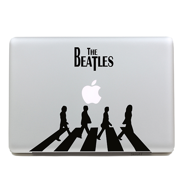 Fashion removable diy fashion cool beatles band tablet and laptop sticker for you tablet computer and
