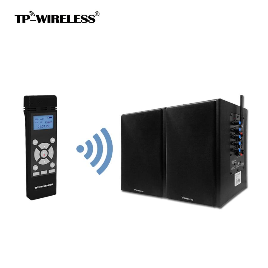 TP-WIRELESS 2.4GHz Wireless Loudspeaker System Digital Wireless - Audio e video portatili