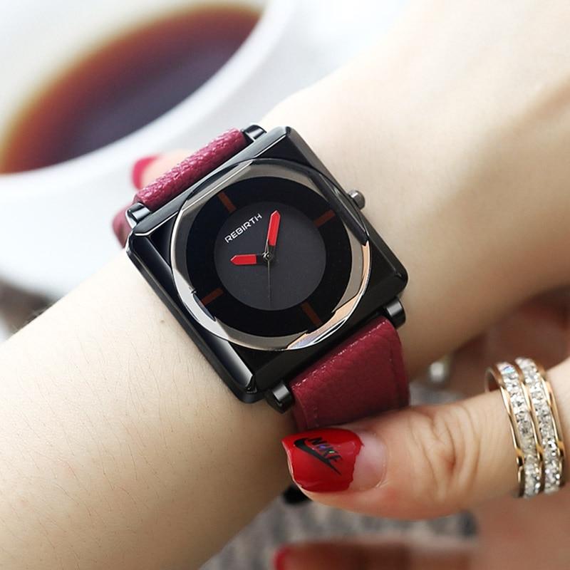 2018 Top Brand Square Women Bracelet Watches