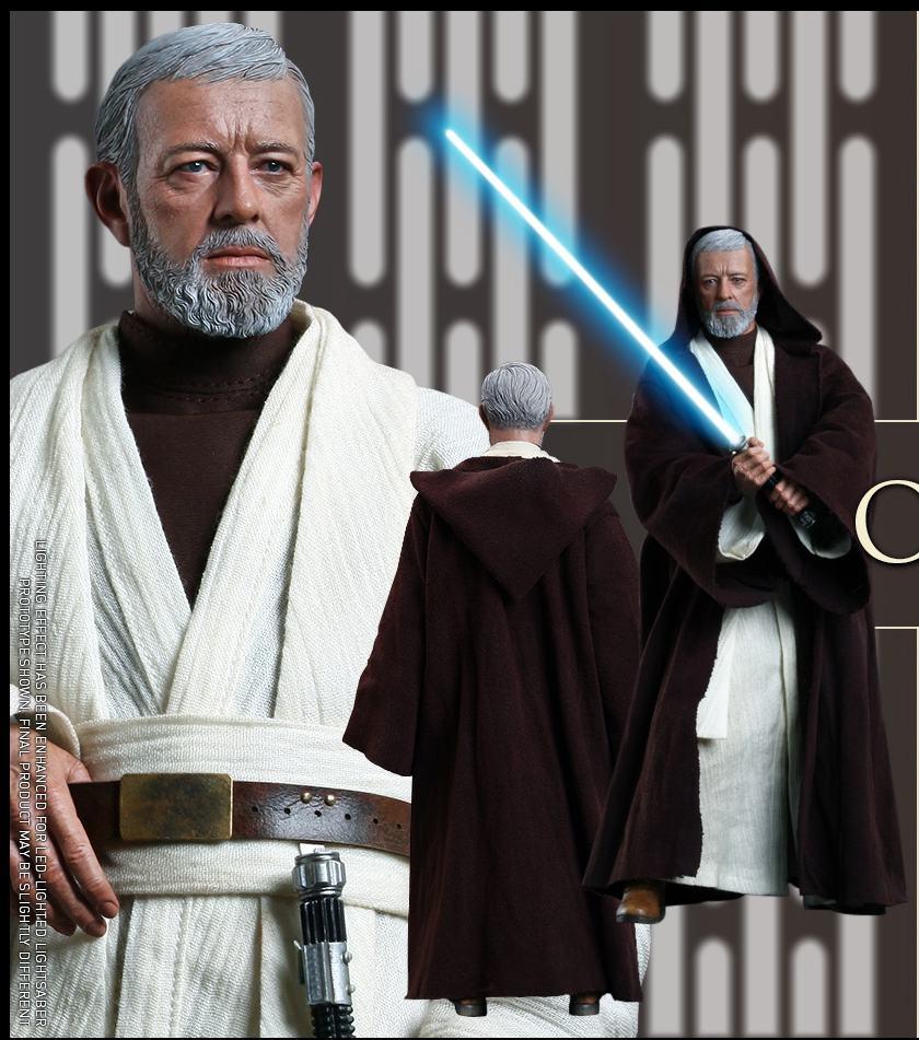 "1/6 scale film <font><b>figure</b></font> doll <font><b>Star</b></font> <font><b>Wars</b></font> Episode IV A New Hope <font><b>Obi-Wan</b></font> <font><b>Kenobi</b></font> <font><b>12</b></font>"" <font><b>action</b></font> <font><b>figure</b></font> doll Collectible model plastic toys"