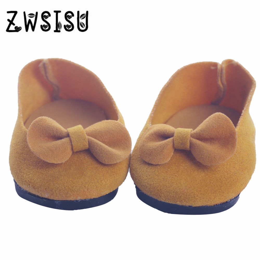 Doll shoes,Two kinds bowknot doll shoes for 18 inch American girl doll for baby gift