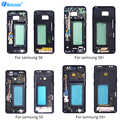 Netcosy pour Samsung S8 S9P S9 S8Plus boîtier cadre moyen lunette plaque couverture réparation pour Samsung Galaxy S9 S9Plus S8 S8 Plus couverture