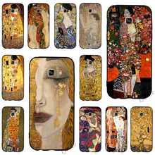 Fashion Kiss by Gustav Klimt Phone Cover for Samsung S9