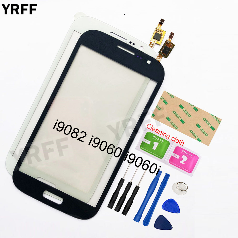 For Samsung Galaxy Grand GT I9082 I9080 Neo I9060 I9060i I9062 I9063 Touch Screen Digitizer Touch Panel Front Glass Lens Sensor