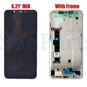 Image 4 - Super Amoled LCD pour Xiaomi Mi8 Explorer LCD affichage numériseur écran tactile remplacement pour Xiaomi 8 LCD pour xiaomi MI 8 SE LCD