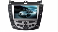 GIFTS Car DVD PLAYER GPS Multimedia Navigation STEREO DVD HEAD UNIT For Honda Accord 2003 2007