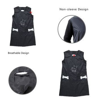 Nylon Grooming Apron with Pockets 4