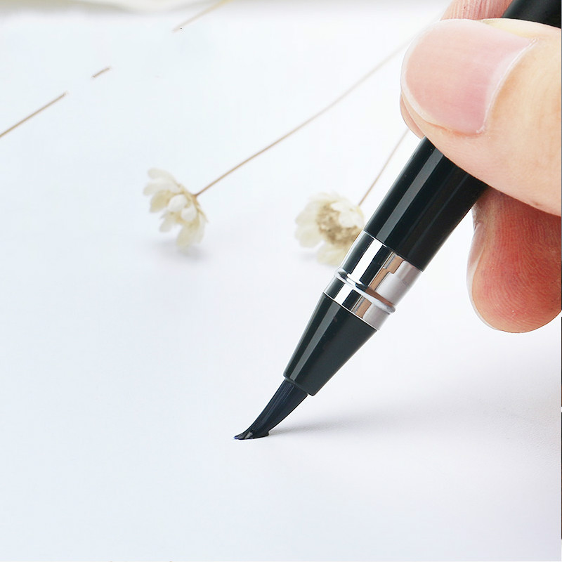 Portable Fountain Pen Style Soft Pen Beginner's Special Practice Practice Pen Regular Script Calligraphy Pen Available Ink Sac цена