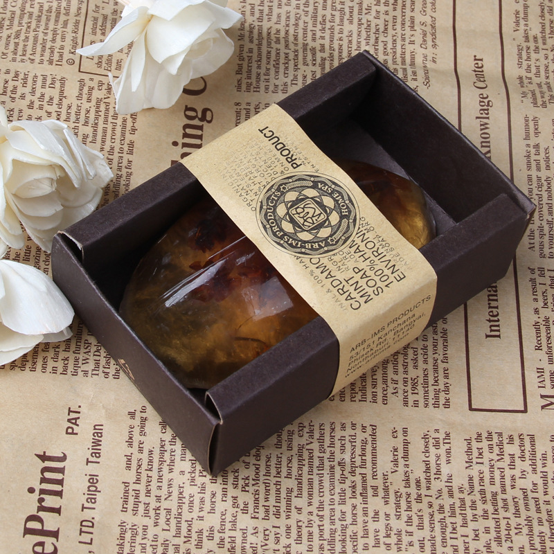 Handmade Soap Anti-acne Wash Soap Natural Osmanthus Essential Oil Whitening Freckle Remove Bathing Soap For Lover's Women Gifts