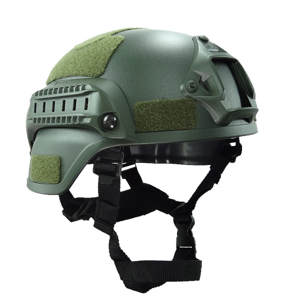 Military Mich 2000 Tactical Helmet Cover Airsoft Gear Paintball Head Protector with Night Vision Sport Camera Mount in Helmets from Sports Entertainment