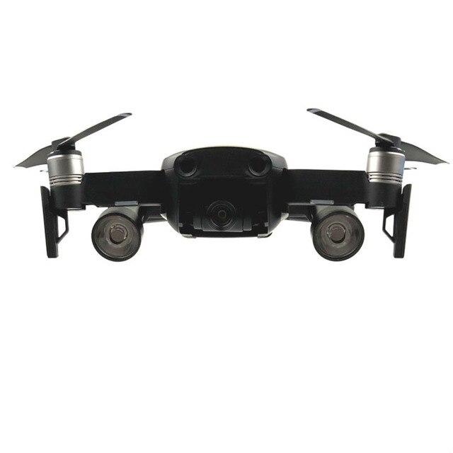 1 juego de luces LED de vuelo nocturno, iluminación con batería AA, piezas de repuesto para fotografía, lámpara para DJI Mavic, accesorios de drones de aire