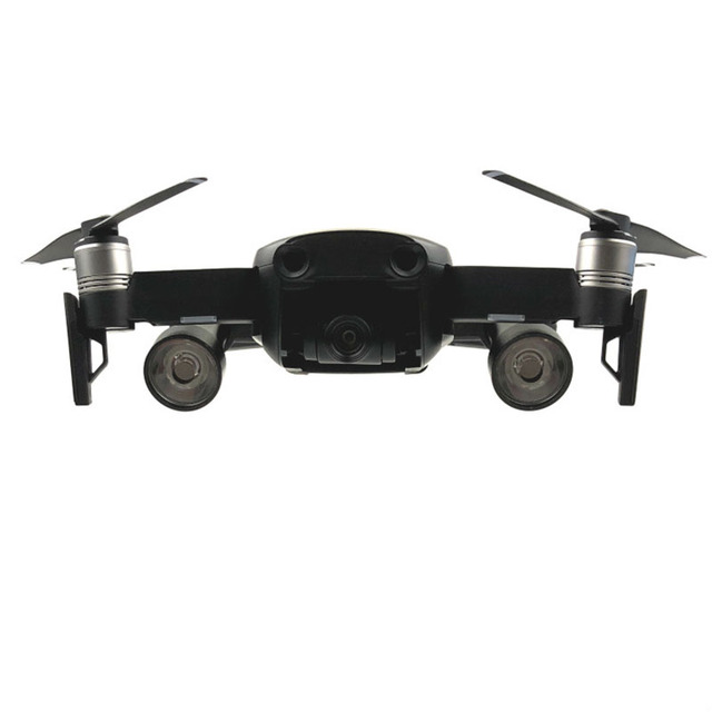 1セット夜間飛行ledライト照明使用のaaバッテリー写真撮影のスペアパーツランプ用dji mavicエアドローンアクセサリー
