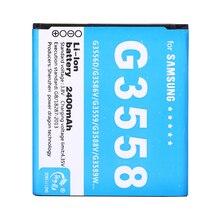 2 шт./Новинка 2400 мАч батарея для samsung Celular для GALAXY CORE II 2 G355H SM-G355 G3558 G3589W G3586V Baterai