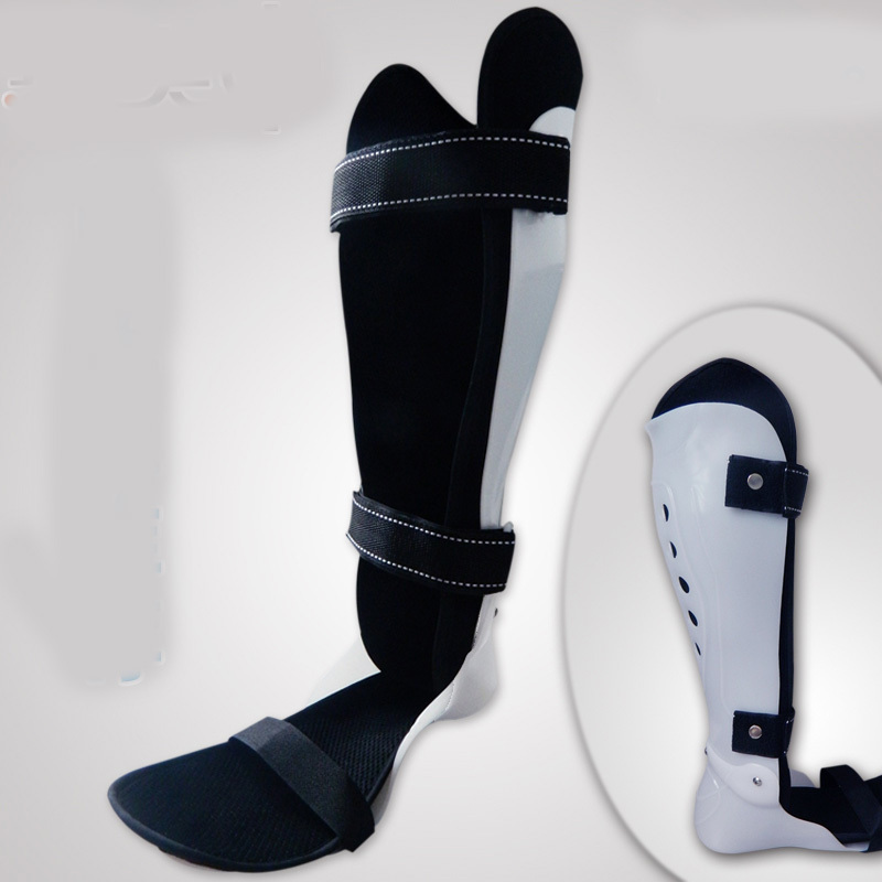 Fixed correct inversion ankle valgus foot drop brace
