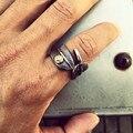 Такахаши Горо перо кольца титана стали 316L кольца Нержавеющей Стали классический перо Горо кольцо Моды для Мужчин Женщины Ювелирные Изделия Кольца