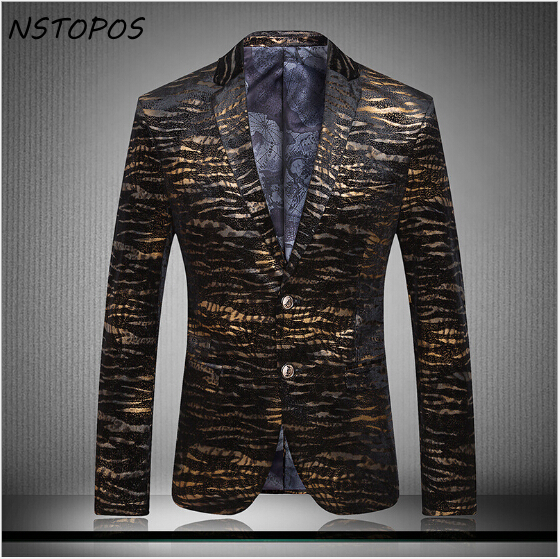Velvet Blazer Mens Gold Blazer Homens 2015 New Arrival Men Slim Fit Suit Mens Blazer Jacket Gold Velvet Blazer Business Suit Men