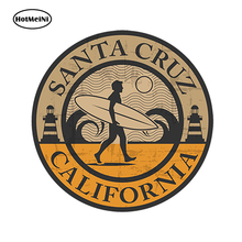 цена на HotMeiNi Car Styling Car Decal 3D USA Santa Cruz California Vinyl Sticker Laptop Travel Luggage Bumper Country 13*13 cm