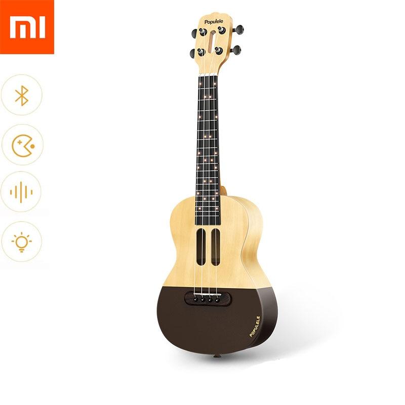 xiaomi mijia populele u1 portable smart ukulele acoustic electric guitar app phone soprano. Black Bedroom Furniture Sets. Home Design Ideas