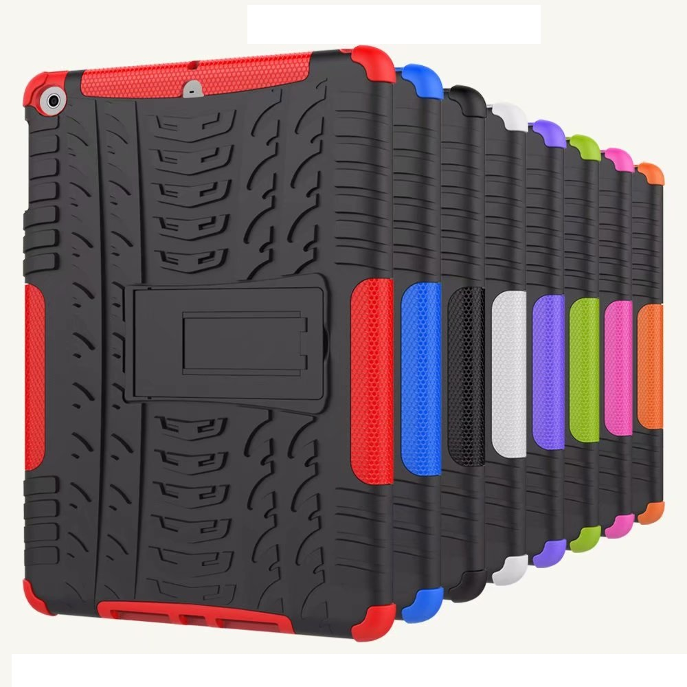 High Duty Armor Coque For IPad 9.7 2017 2018 Air 1 Case Shockproof Silicon Hybrid Cover IPad 2018 9.7'' 5th 6th Shockproof Case