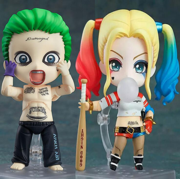 2017 New Suicide Squad The Joker Female Harley Quinn 672 Suicide Edition Nendoroid Doll PVC Action Figure Collectible Model Toys the squad black op
