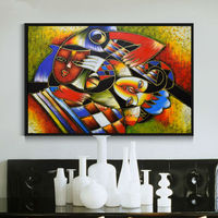 Four Seasons Trees MODERN ABSTRACT WALL ART OIL PAINTING ON CANVAS