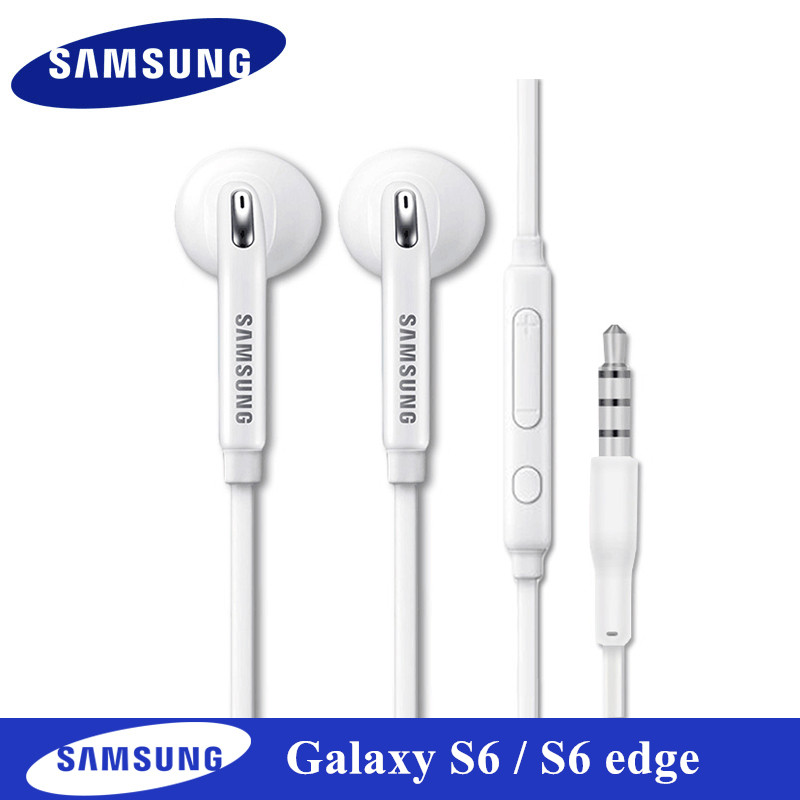 Original Earphones for samsung s6 edge In-ear Sports Earbuds Mic/Volume Control For Galaxy A3 A5 A7 J2 Pro J5 J7 Note 3 4 5 8 9 все цены