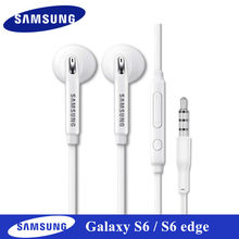 Original Earphones for samsung s6 edge In-ear Sports Earbuds Mic/Volume Control For Galaxy A3 A5 A7 J2 Pro J5 J7 Note 3 4 5 8 9(China)