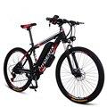 26 дюймов Электрический mountian велосипед 36В 250 Вт мотор электрический велосипед 21/27 скоростной ebike взрослый дорожный велосипед механическая по...