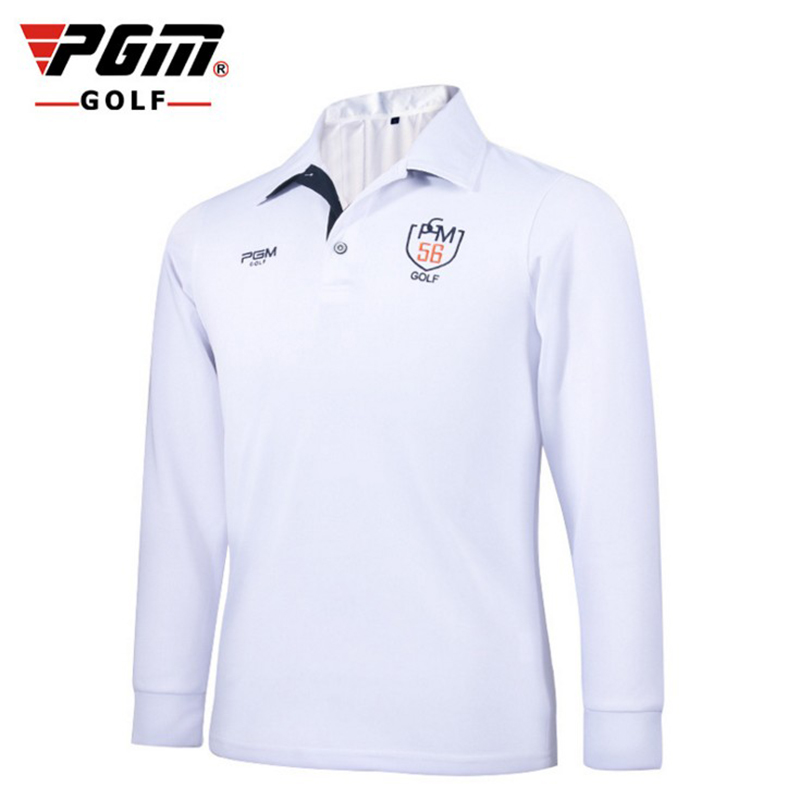 PGM Brand High-quality Mens Outdoor dri Fit Golf Polo Shirts Quick Dry Long Sleeve Golf T-shirts Clothing Table Tennis Shirt