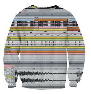 2018 Ableton Live Crewneck Толстовка среди музыкального производства программного обеспечения 3d джемпер для женщин и мужчин повседневная одежда свитш...