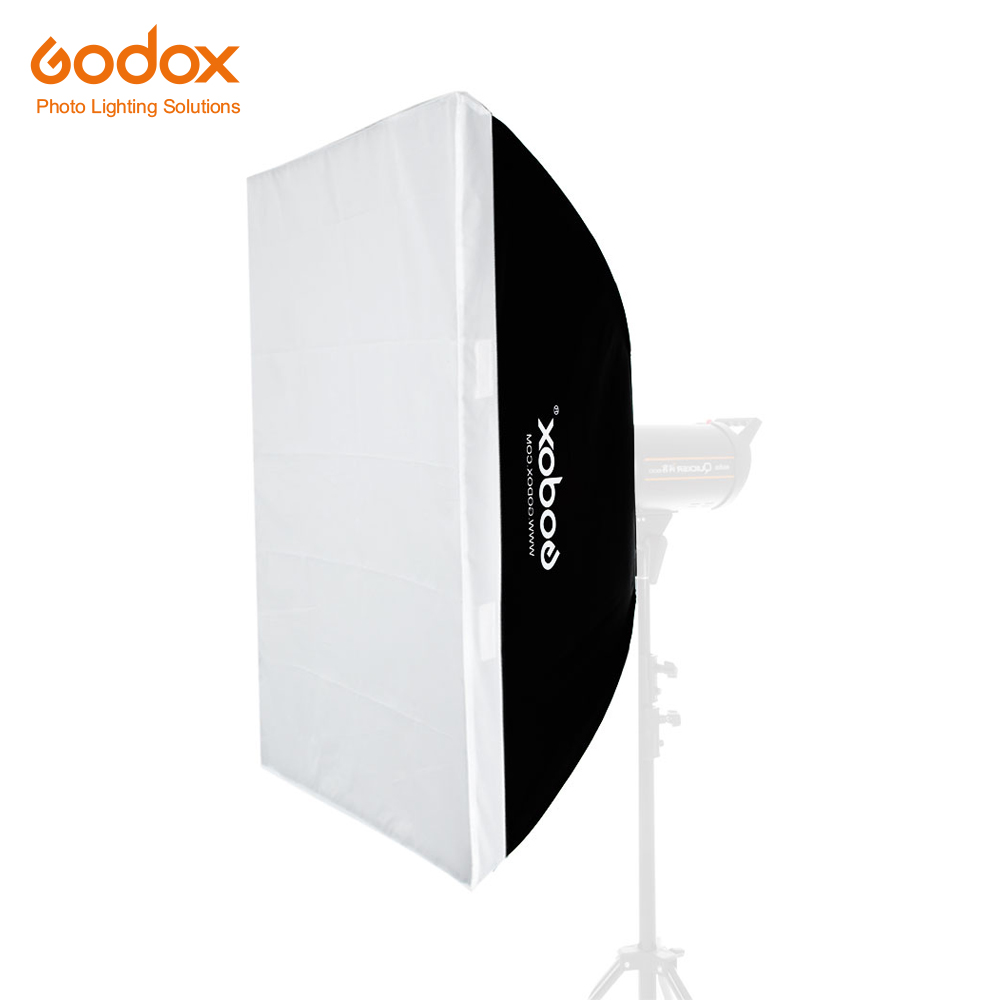 Godox softbox 80 120cm 32 x 47 Portable Rectangular Studio Strobe Softbox with Bowens Mount for