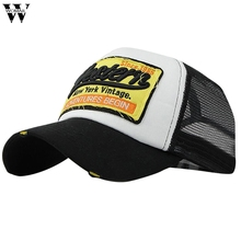 Trucker Cap Men Hip Hop Baseball Caps Dad Hat Western Mesh Summer Hat Casual Women Embroidery