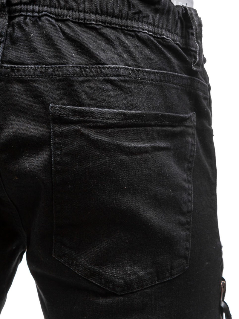 Ripped Jeans Men 2017 Brand New Hi Street Fashion Zipper Biker Black Faded Homme Casual Wash Cotton Slim Fit Skinny In From Mens Clothing