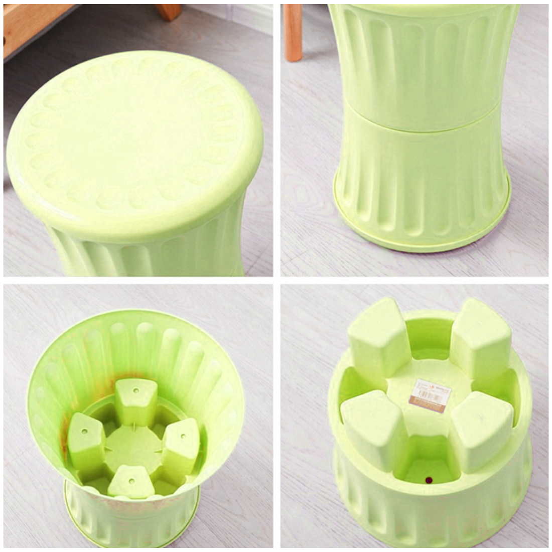 Online Shop HIPSTEEN 2Pcs Durable Multifunctional Plastic Storage Stool Simple Style Household Toy Storage Box - Green | Aliexpress Mobile  sc 1 st  AliExpress.com & Online Shop HIPSTEEN 2Pcs Durable Multifunctional Plastic Storage ... islam-shia.org