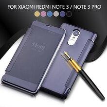 Для Xiaomi Redmi Note 3 гибридный Чехол Покрытие зеркальной поверхности PC кожаный чехол для Xiaomi Redmi Note 3/Note 3 Pro телефон оболочки