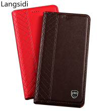цена на Genuine Leather Card Slot Holder Case For LG Stylo 4 Mobile Phone Case For LG G8 ThinQ LG G7 LG G6 LG G5 LG G4 Magnetic Case