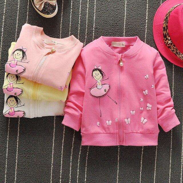 Малыш Дети Девушки Весна и осень Audel Хлопок Куртка Молнии Пальто Для 70-95 см Высота Дети Кардиган G149