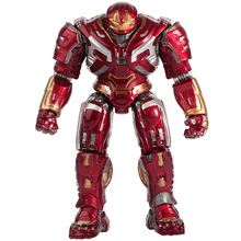 18cm Disney Marvel Avengers 4 Iron Man Anti-Hulk Armored Joint Movable Doll Action Figure Toy Car Ornaments Toys Grandson