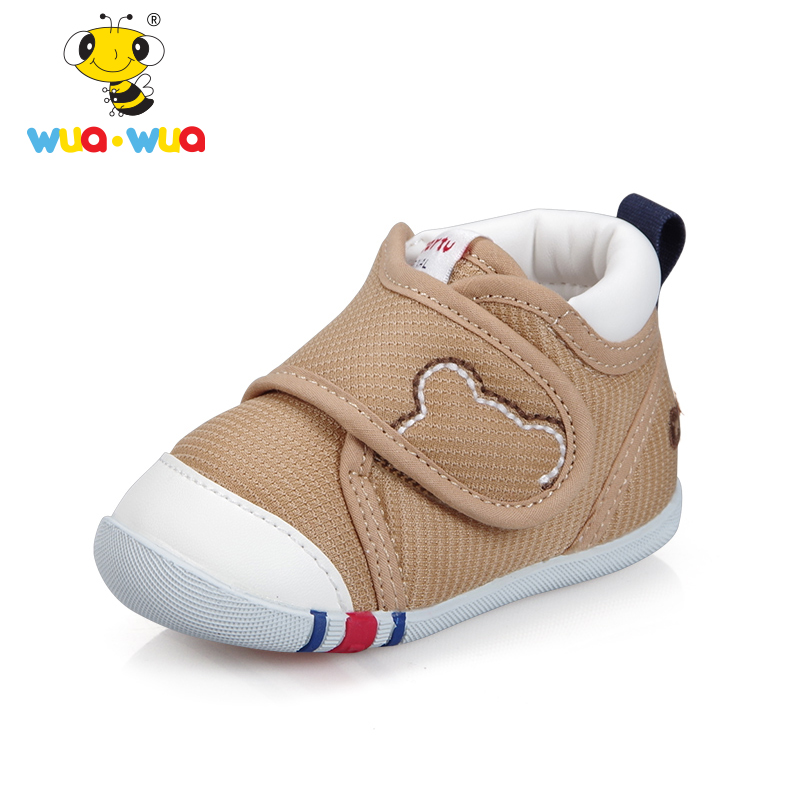 Wua Wua Newborn First Walkers Shoes Casual 4 Colors Shoes For Baby Boys and Girls Soft Sole Infant Toddler Shoes First Walkers