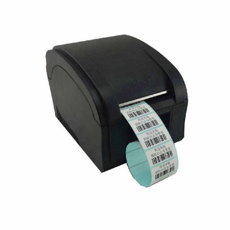 Kecepatan Tinggi 3 ~ 5 Inch/Sec Port USB Stiker Printer Barcode Label Printer Thermal Barcode Printer Kode Bar printer