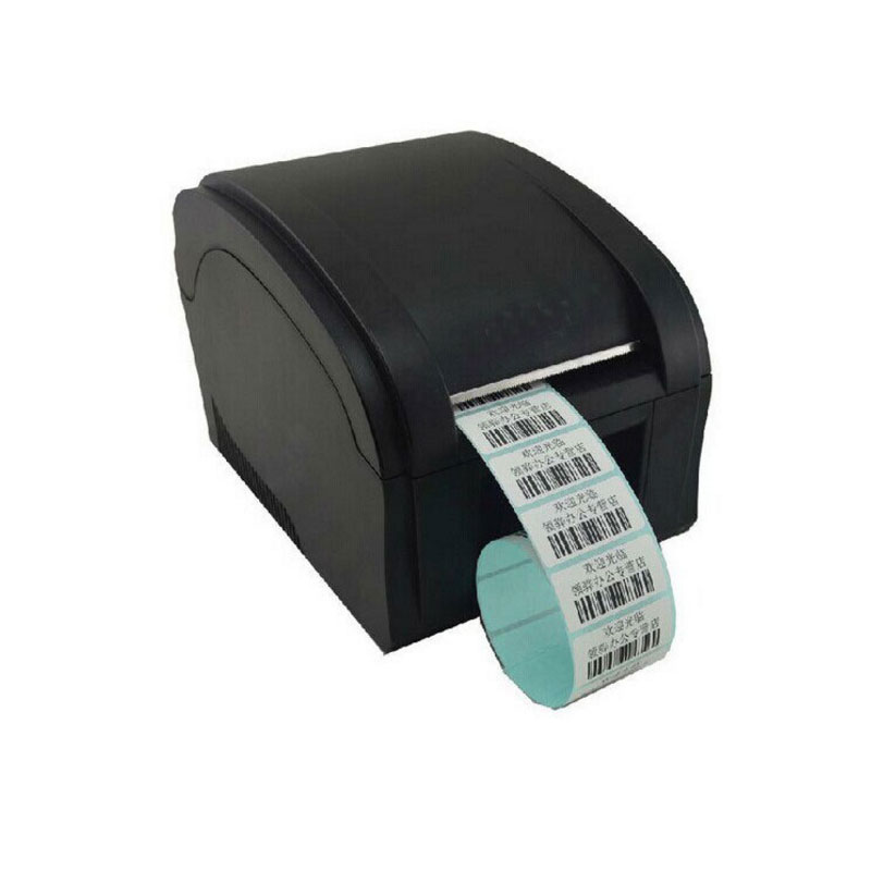 high speed 3~5Inch/Sec USB port sticker printer Barcode Label Printer Thermal barcode printer bar code printer 58mm label barcode printer with direct thermal label and adhesive sticker pritner usb gp2120t for coffee store