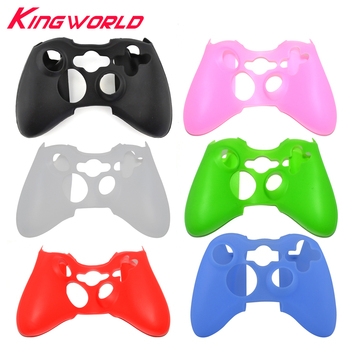 100pcs Silicone Skin Cover Protective Case Soft Controller Protector for Xbox 360 Wireless Colorful Game Accessories