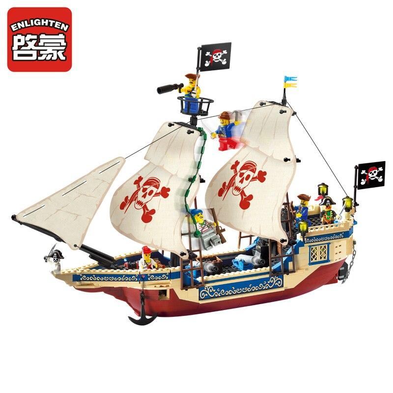 Enlighten модели Здание игрушка Совместимость с LEGO Лего Legos Конструктор E311 487 блок Блоки игрушки Хобби Для мальчик девушка Наборы моделей ...