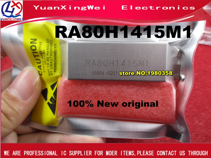MODULE RA80H1415M RA80H1415M1-201 RA80H1415M1 RA80H1415 NEW ORIGINAL ( Function Is Similar With S-AV36 ,replaced S-AV36A )