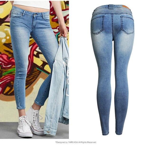 2017 Jeans pour Femmes Nouvelle Basse Marque Chute Boyfriend Taille RxrqRO1