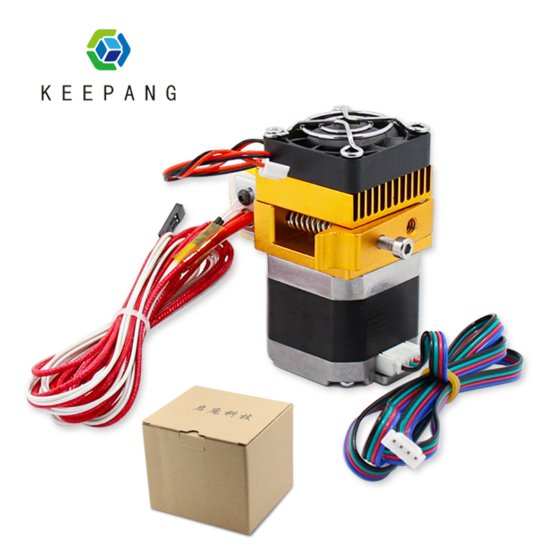 MK8 Extruder Head J-head Hotend 0.4mm Nozzle Kit 1.75mm Filament Extrusion 3D Printers Parts With Box Motor Throat Aluminum Part